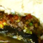 Turkey Shepherd's Pie with Cauliflower Puree