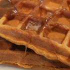 Gingerbread Pumpkin Waffles, Gluten & Dairy Free