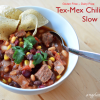 Tex-Mex Chili for the Slow Cooker - Gluten Free-zer Friday