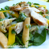 Curried Chicken, Cantaloupe and Mango Salad
