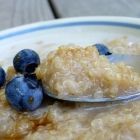 Chai Spiced Coconut Quinoa Hot Cereal at the Balanced Platter