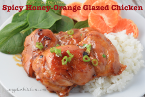 Spicy Honey-Orange Glazed Chicken