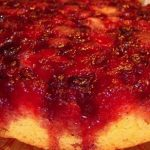 Gluten Free Dairy Free Cranberry Upside-down Cake