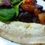 Roasted Fish with Potatoes, Tomatoes & Olives