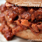 Gluten Free Dairy Free Slow Cooker Sloppy Joes
