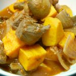 Bison & Sweet Potato Stew, Slow Cooker