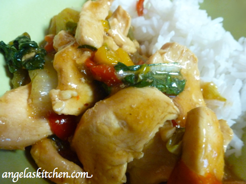 Gluten Free Dairy Free Stir Fry Chicken Mix for the Freezer