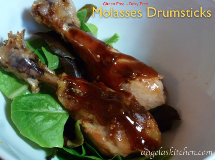 Molasses Drumsticks