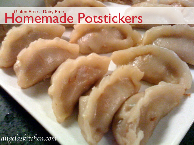 Gluten Free Dairy Free Homemade Potstickers1
