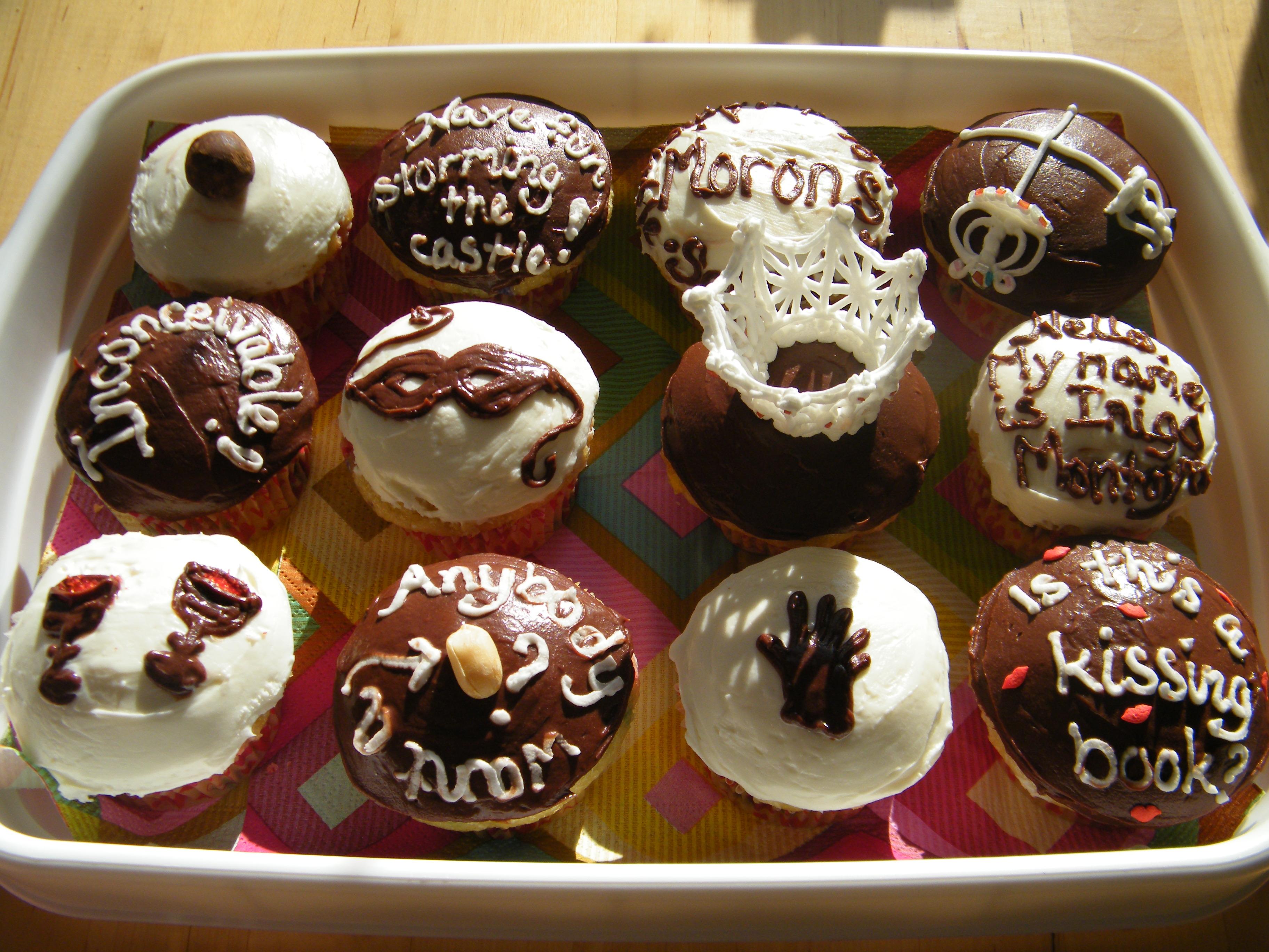 Princess Bride Cupcakes Menu Plan Monday January 18 2010