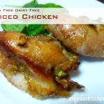 Gluten Free Dairy Free Spiced Chicken