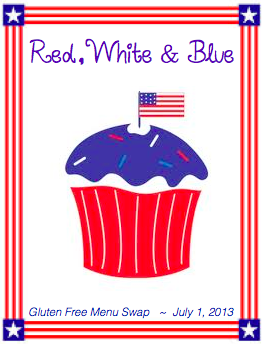 GF Menu Swap- Red, White and Blue