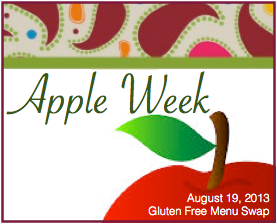 Gluten Free Menu Swap-apples