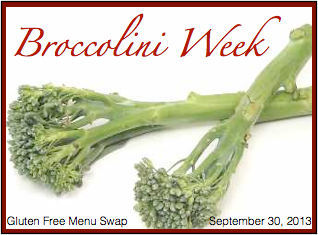 Gluten Free Menu Swap-Broccolini
