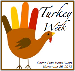 Gluten Free Menu Swap-Turkey