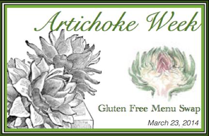 Gluten Free Menu Swap-Artichoke
