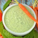 Gluten Free Dairy Free Green Goddess Dip or Dressing
