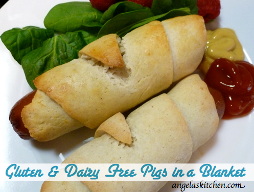 Gluten Free Dairy Free Pigs in a Blanket GFCF
