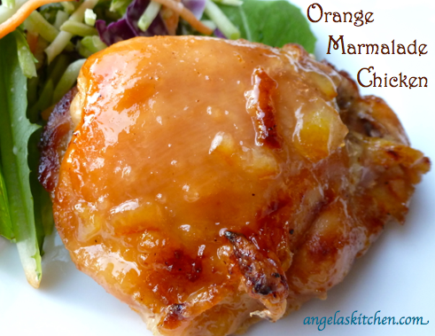 Orange Marmalade Chicken – Gluten Free-zer Friday