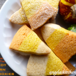 Gluten Free Dairy Free Candy Corn Cookies