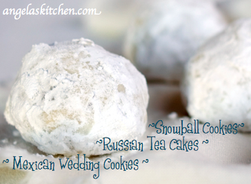 Gluten Free Dairy Free Holiday Cookie Countdown Russian Tea Cakes