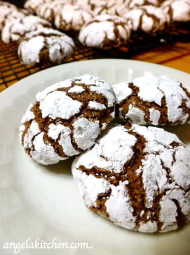 gluten free dairy free christmas cookie countdown chocolate crinkles