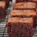 Gluten Free Dairy Free Fudge Brownies