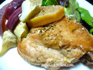 Gluten Free Dairy Free Braised Mediterranean Chicken