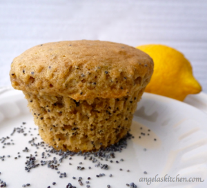 Lemon OR Almond Poppy Seed Muffins, Gluten & Dairy Free – WonderMill ...