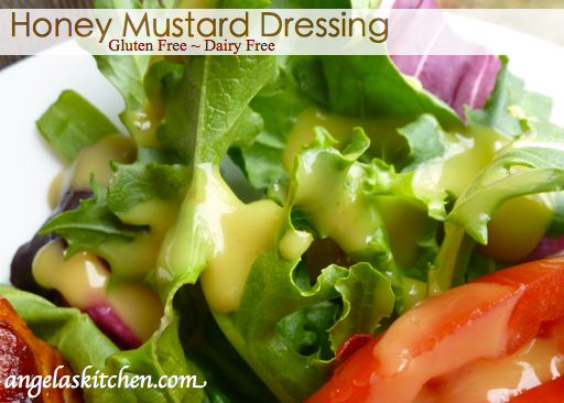 Gluten Free Dairy Free Honey Mustard Dressing