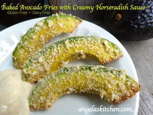 Avocado Fries with Horseradish Sauce