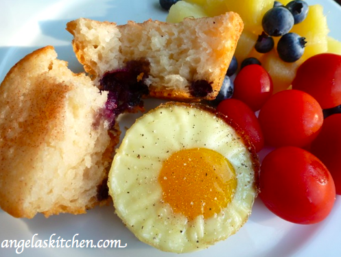 Gluten Free Dairy Free Box Oven Muffins and Eggs