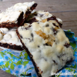 Gluten Free Dairy Free S'more Brownie Bars