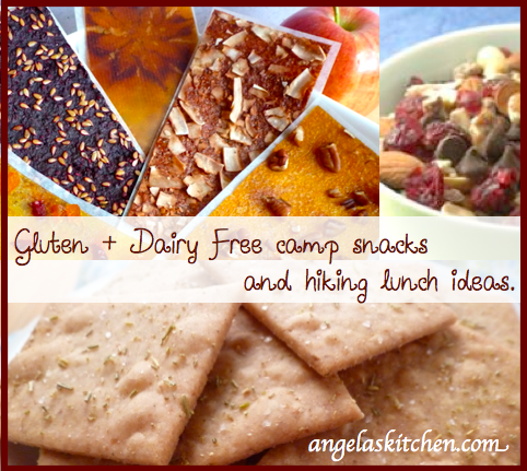 Camping lunch and snack ideas