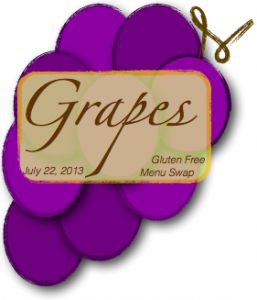 gluten free menu swap-grapes