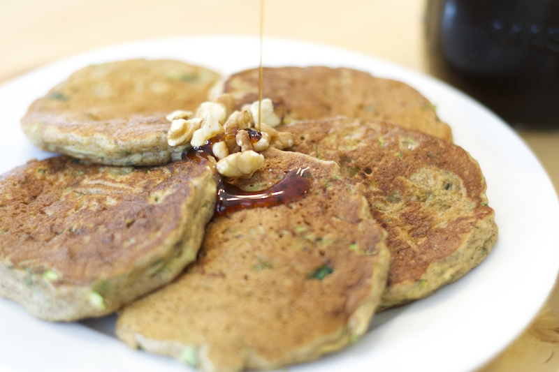 Secret Recipe Club – Zucchini Bread Pancakes