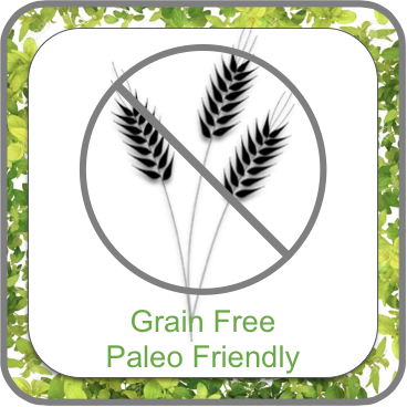 AK Grain Free Paleo Friendly Button