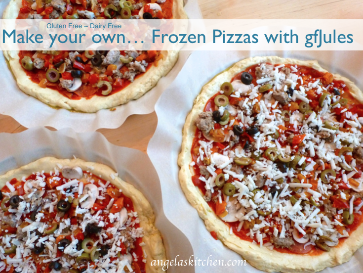gfJules frozen gluten free pizza crusts 7